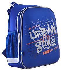 Рюкзак шкільний каркасний YES H-12 Urban Style Синій (555964)