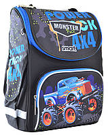 Рюкзак шкільний каркасний Smart PG-11 Power 4*4 Чорний (555977), фото 1