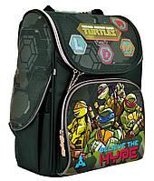 Рюкзак шкільний каркасний 1 Вересня H-11 Tmnt Зелений (556157), фото 1