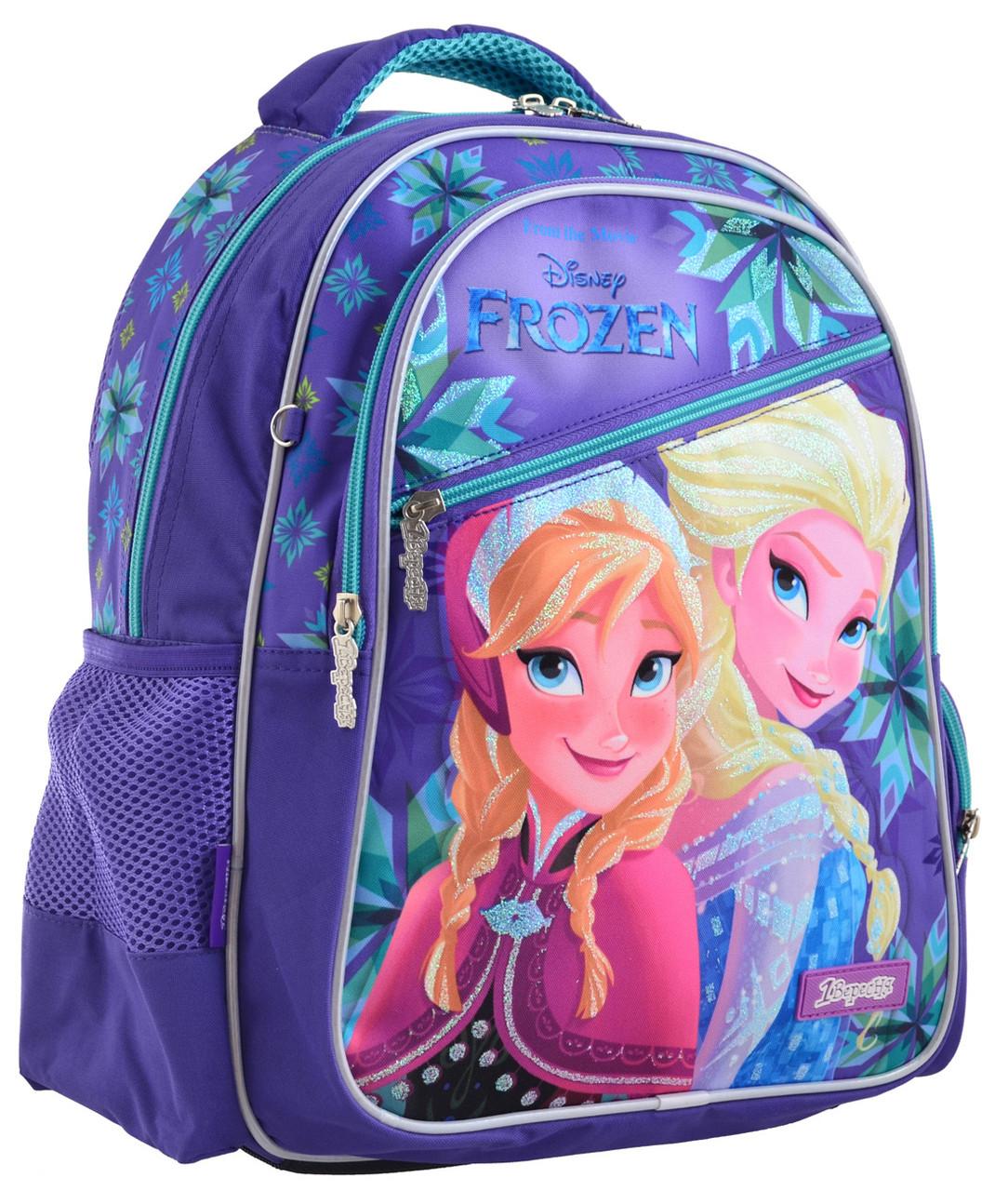 Рюкзак шкільний 1 Вересня S-23 Frozen  Фіолетовий (556339)