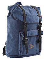 Рюкзак молодіжний YES T-59 16 л Ink Blue (557347), фото 1