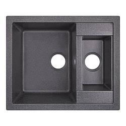 Кухонна мийка Lidz 615x500/200 BLA-03 (LIDZBLA03615500200)