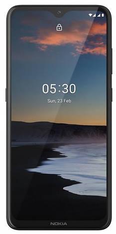 "Смартфон Nokia 5.3 4/64GB Dual Sim Charcoal; 6.55"" (1600х720) IPS / Qualcomm Snapdragon 665 / ОЗУ 4 ГБ / 64 ГБ встроенной + microSD до 512 ГБ / камера, фото 2"