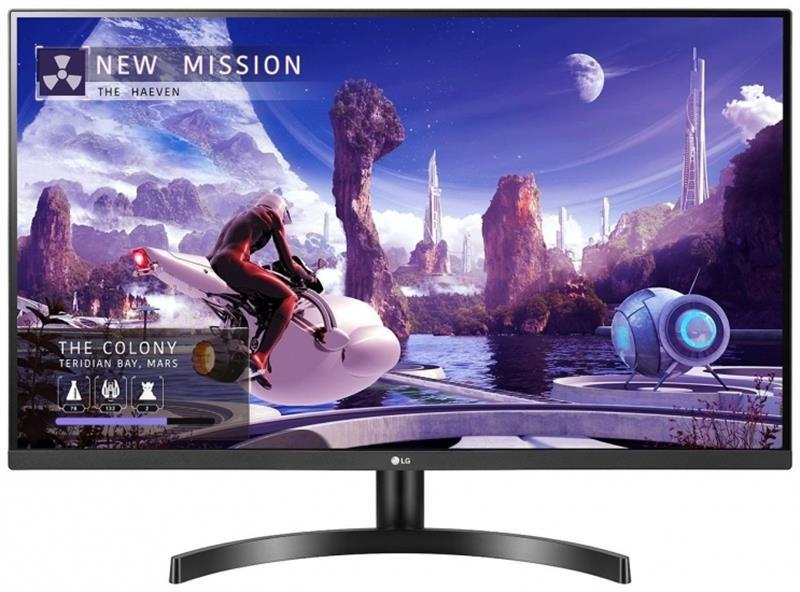 """Монітор LG 27"""" 27QN600-B IPS Black; 2560x1440, 350 кд/м2, 5 мс, 2xHDMI, DisplayPort"""