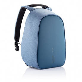 Рюкзак для ноутбука Bobby Hero Small Light Blue (P705.709) с защитой от краж