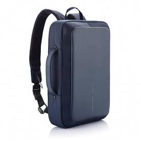 Рюкзак-портфель для ноутбука Bobby Bizz Navy (P705.575) с защитой от краж