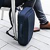 Рюкзак-портфель для ноутбука Bobby Bizz Navy (P705.575) с защитой от краж, фото 3