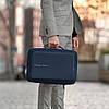 Рюкзак-портфель для ноутбука Bobby Bizz Navy (P705.575) с защитой от краж, фото 9