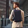 Рюкзак-портфель для ноутбука Bobby Bizz Navy (P705.575) с защитой от краж, фото 10