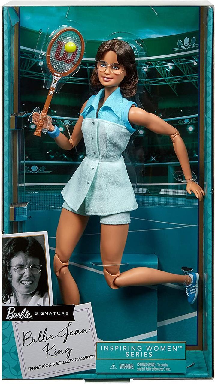 Кукла Барби Вдохновляющие женщины Билли Джин Кинг  Barbie Billie Jean King GHT85
