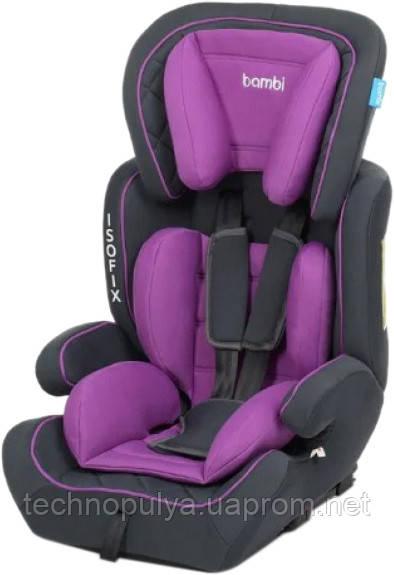 Автокресло Bambi M 4250 9-36 кг Isofix Purple (US00397)