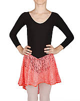Платье для бальных танцев Dance&Sport NM 15 черно-оранжевый, масло XL