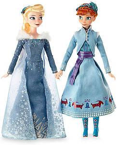 Набор кукол Disney Анна и Эльза приключение Олафа 30 см SKL14-221784