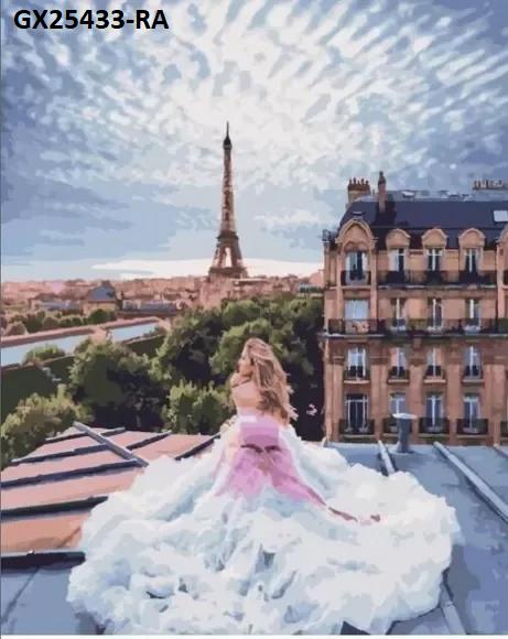 Картина по номерам. «Паризькі мрії» (GX25433-RA)