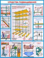 Стенд по охране труда «Правила безопасности при работе на высоте»