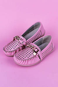 Туфли подростоковые девочка розовые Calorie 122292P