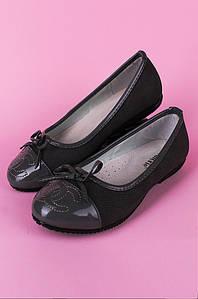 Туфли подростоковые девочка серые Calorie 122284P