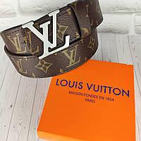 Кожаный ремень в стиле Louis Vuitton (Луи Витон) ЛВ