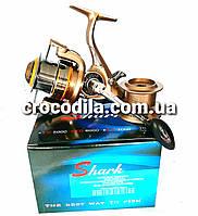 Карповая катушка с бейтранером Shark YU 6000 9+1, фото 1