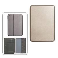 Чехол книжка для iPad Mini 4 золотой