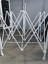Шатер каркасный (белый, 3м*3м)