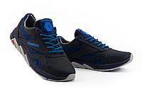 Подростковые кроссовки кожаные весна/осень синие-голубые CrosSAV 50 Classic Leather Pearl, фото 1