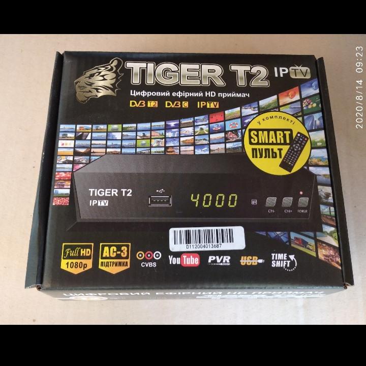 Цифровой тюнер Т2 Tiger T2 IPTV