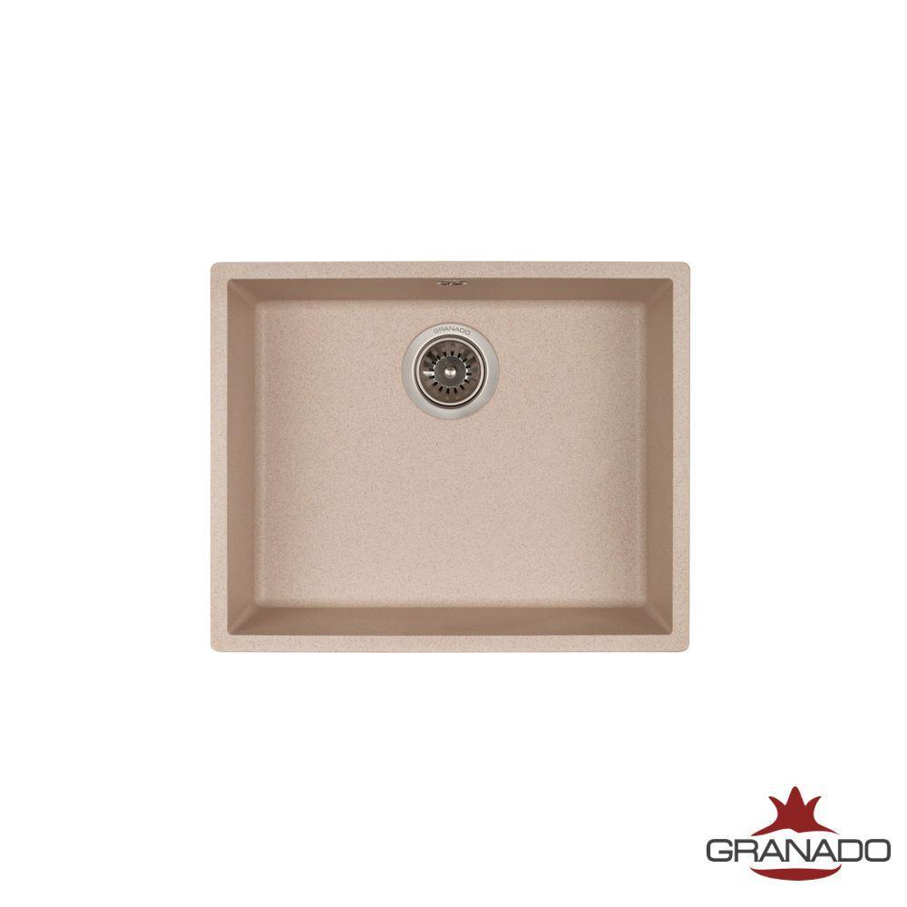 Кухонная мойка интрегрированная ГРАНИТ с евросифоном 535*435 мм Granado Under top Max Avena 3002
