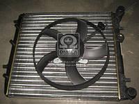 Радиатор охлаждения двигателя Seat Ibiza 1.0 (2015 - 2018 р.в.) VAN WEZEL 76002013