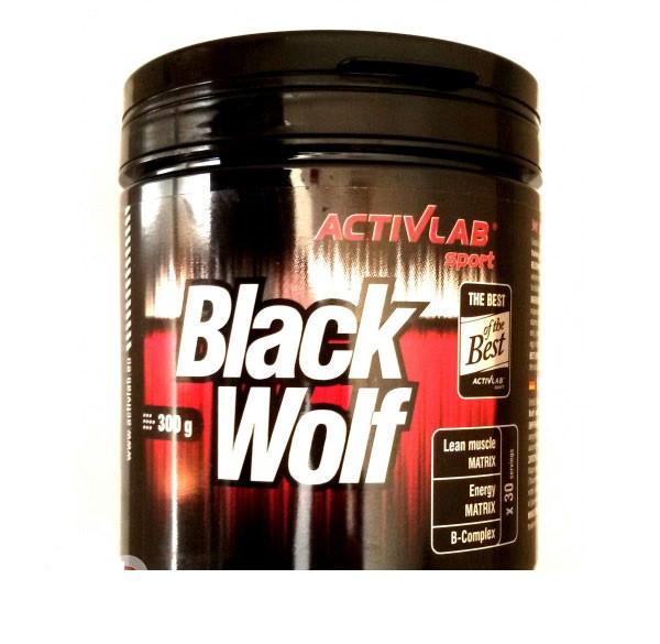 Предтренировочный комплекс Activlab Black Wolf (300 g)