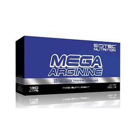 Предтренировочний комплекс Scitec Nutrition Mega Arginine (120 caps)