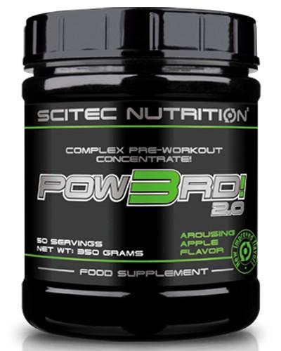 Предтренировочный комплекс Scitec Nutrition Pow3rd! 2.0 (350 g)