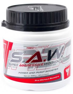 Предтренировочний комплекс TREC Nutrition S. A. W. (400 г)