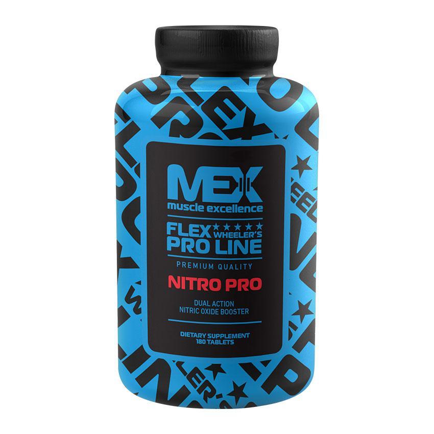Предтренировочний комплекс MEX Nitro Pro (180 tabs)