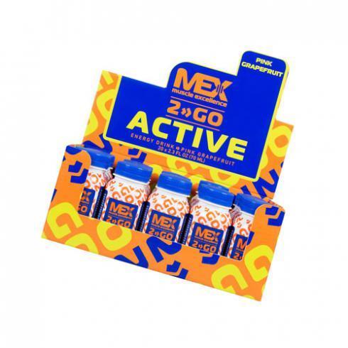 Предтренировочний комплекс MEX Active Shot 20*70 ml