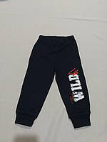 Темно-синие спортивные штаны для  мальчика 98, 104,116 рост, фото 1