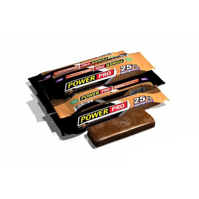 Протеїновий батончик Power Pro 25% (60g какао)