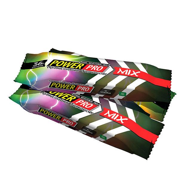 Протеїновий батончик Power Pro 36% (60 g фруктовий мікс)