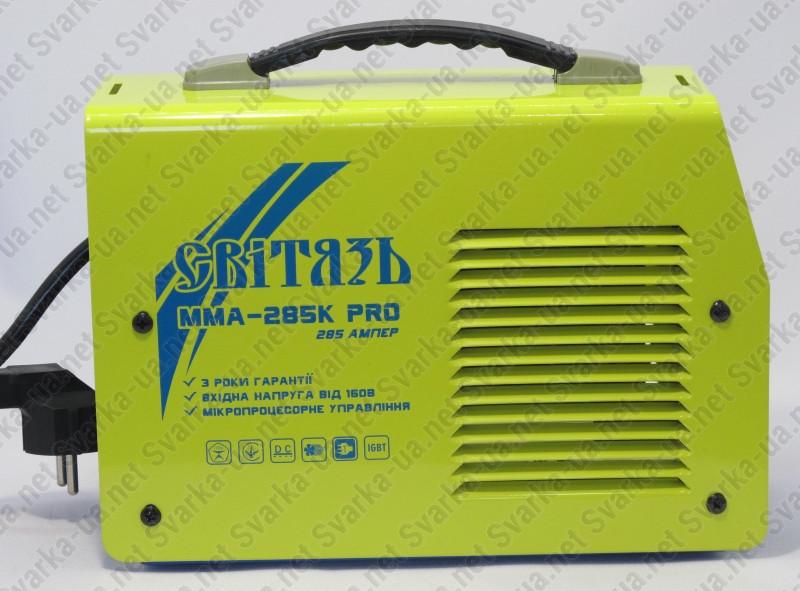 Сварочный инвертор Свитязь ММА-285К PRO