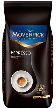 Кофе в зернах Movenpick Espresso 1кг отличная гармония вкуса и аромата с умеренной горчинкой.Арабика,робуста