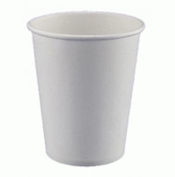 Стаканчик бумажный белый 340 мл (50шт)