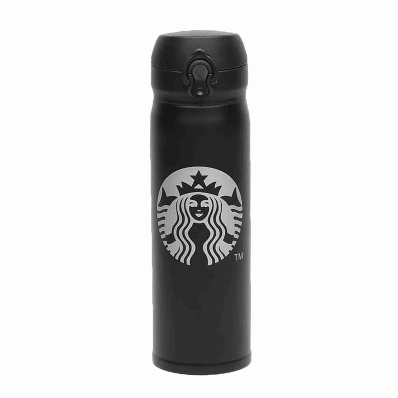 Термоc Starbucks STN-2 ЧЕРНЫЙ / термокружка / Термос