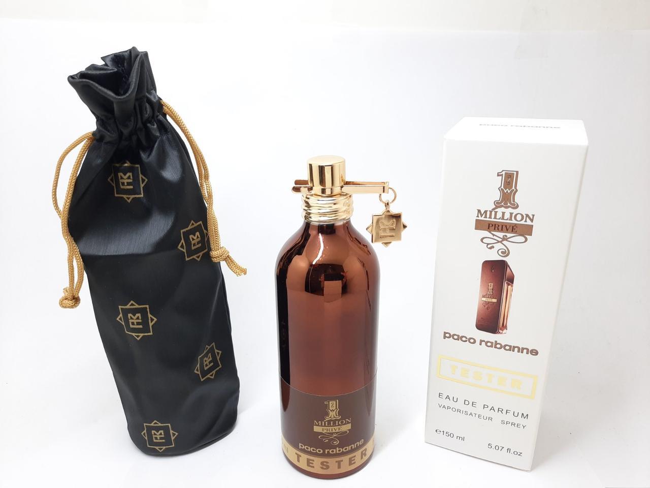 Тестер мужской парфюмированной воды Paco Rabanne 1 Million Prive MONTALE (Пако раббан Ван миллион Прайв)150 мл