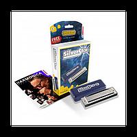 Губна гармошка Hohner для початківців Silver Star доступні всі тональності! В подарунковій упаковці