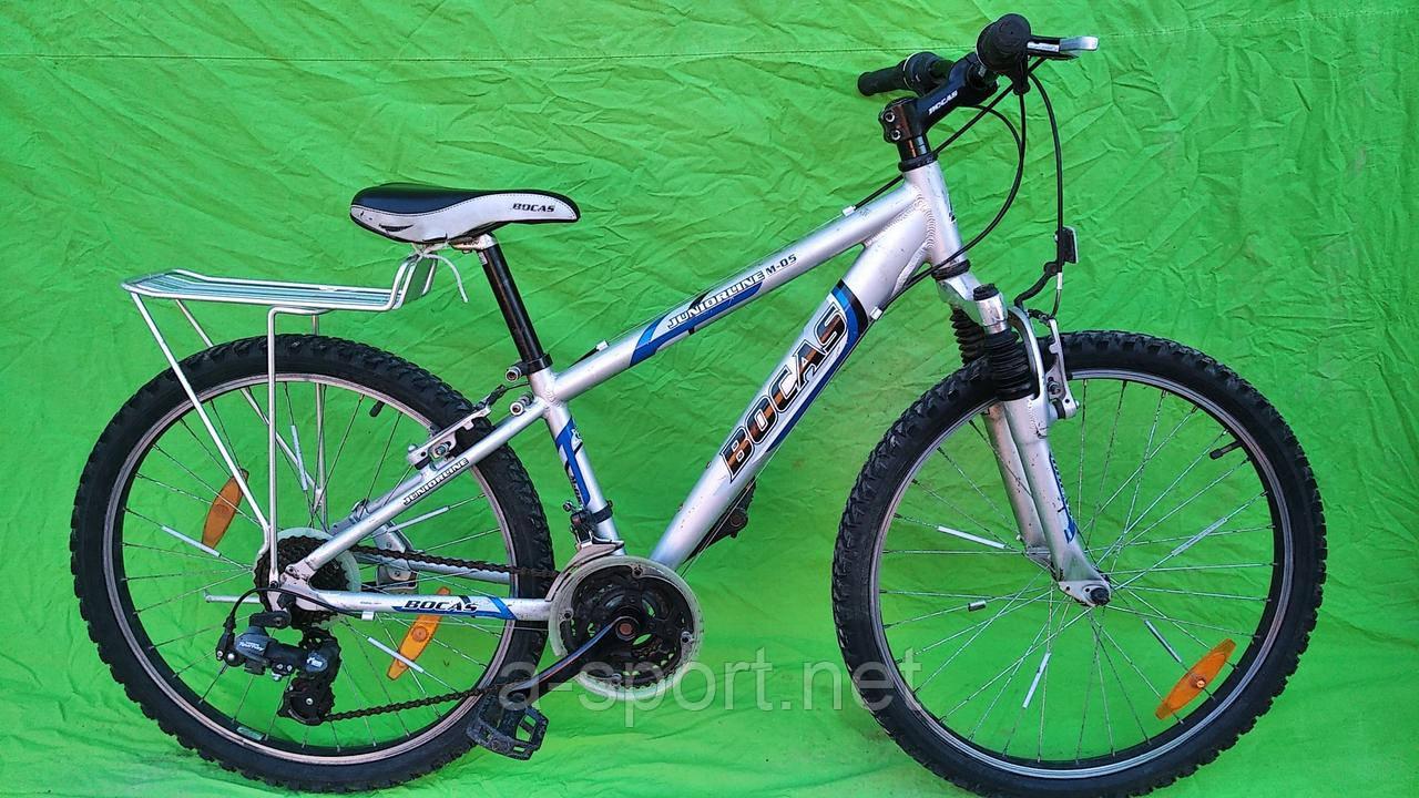 Підлітковий велосипед Bocas, алюміній, колеса 24