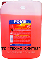 Антифриз красный концентрат POLAR (-76°C) Premium Longlife G12+ (10л)