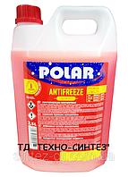 Антифриз красный концентрат POLAR (-76°C) Premium Longlife G12+ (2,5л)