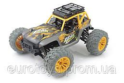 Машинка на радиоуправлении 1:14 UJ Pioneer 4WD (желтый)