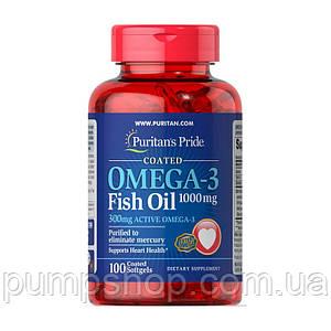 Жирні кислоти омега-3 Puritan's Pride Omega-3 Fish Oil 1000 mg 100 капс.