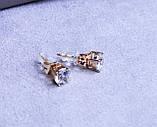 Сережки фірми Xuping з позолотою (color 15 ), фото 3